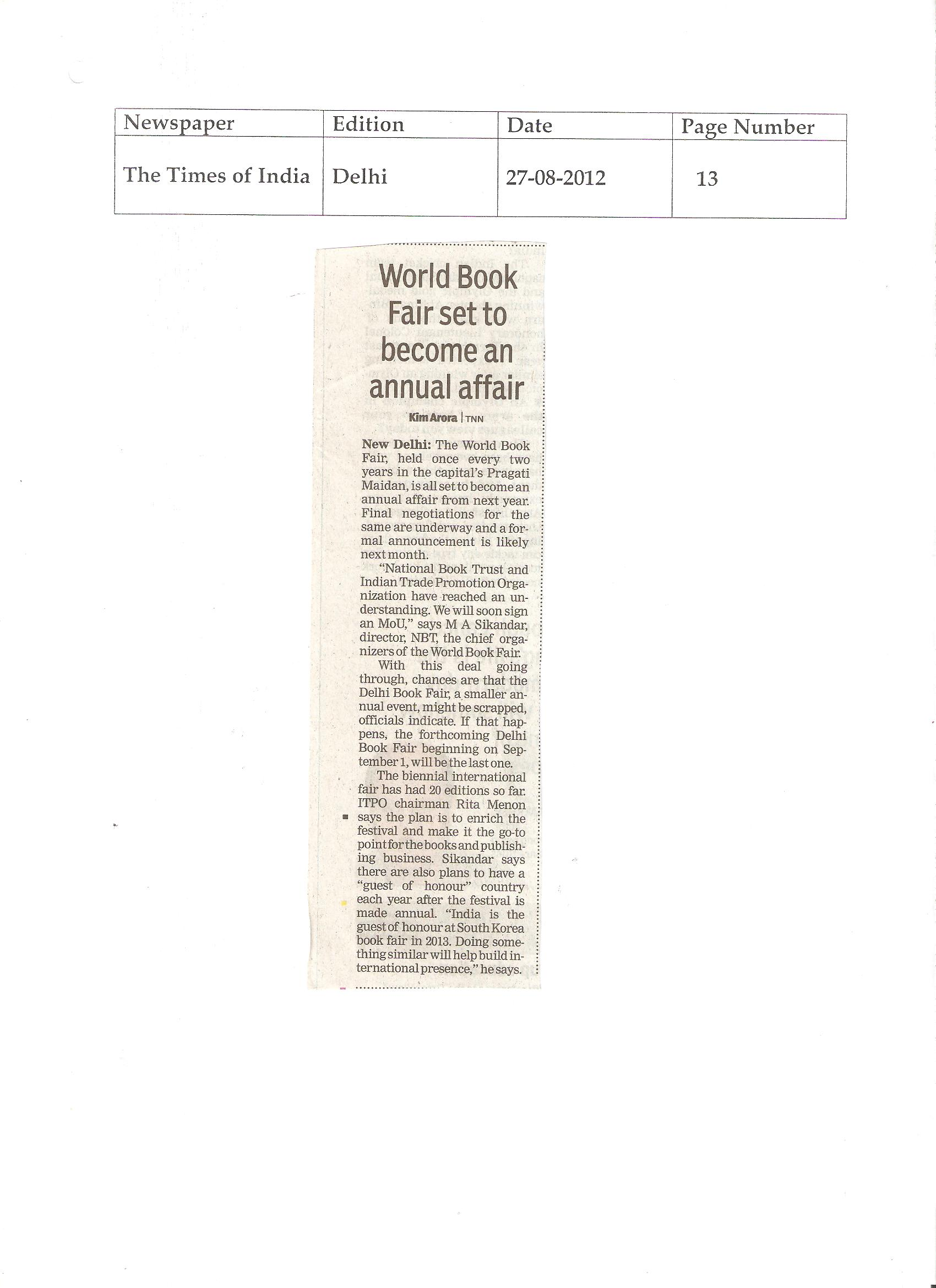 Press Releases August 19 2016 Version 20142 Pr And Newsclipping On Leh Book Fair