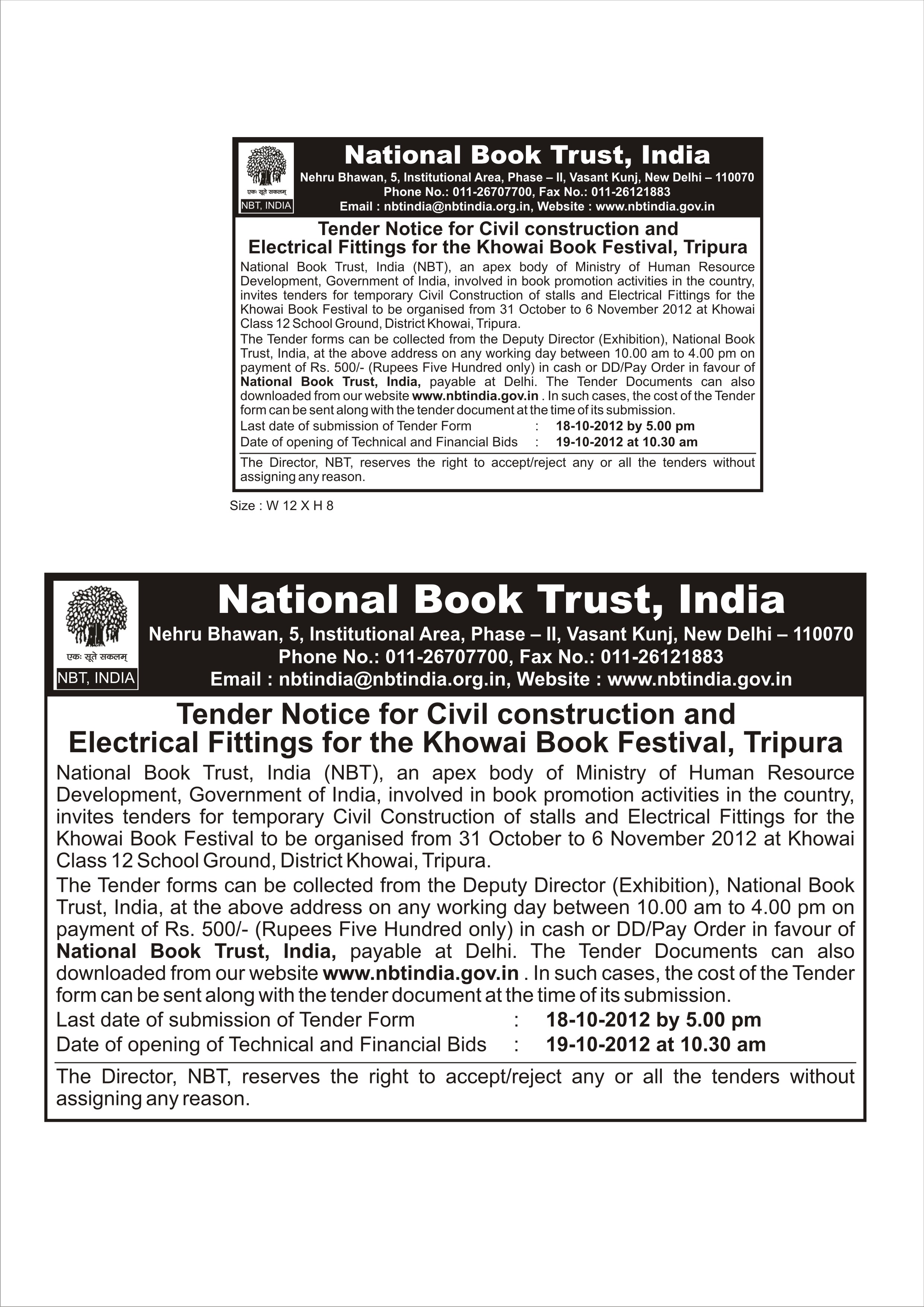 Image Result For Book Purchase Tenders