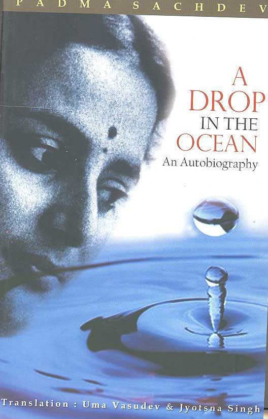 A DROP IN THE OCEAN An Autobiography