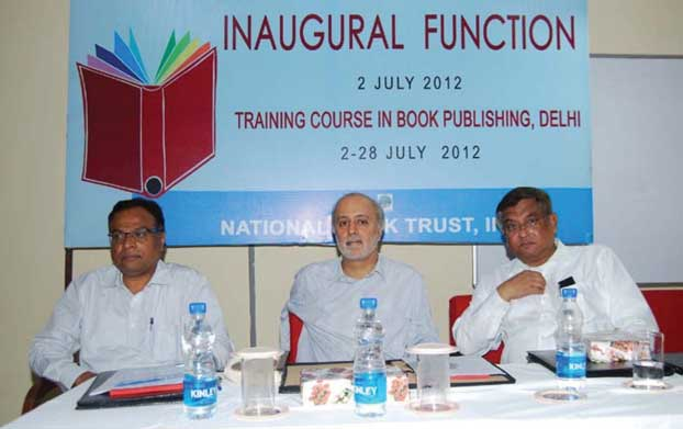 Inaugural function of Training Course in Book Publishing
