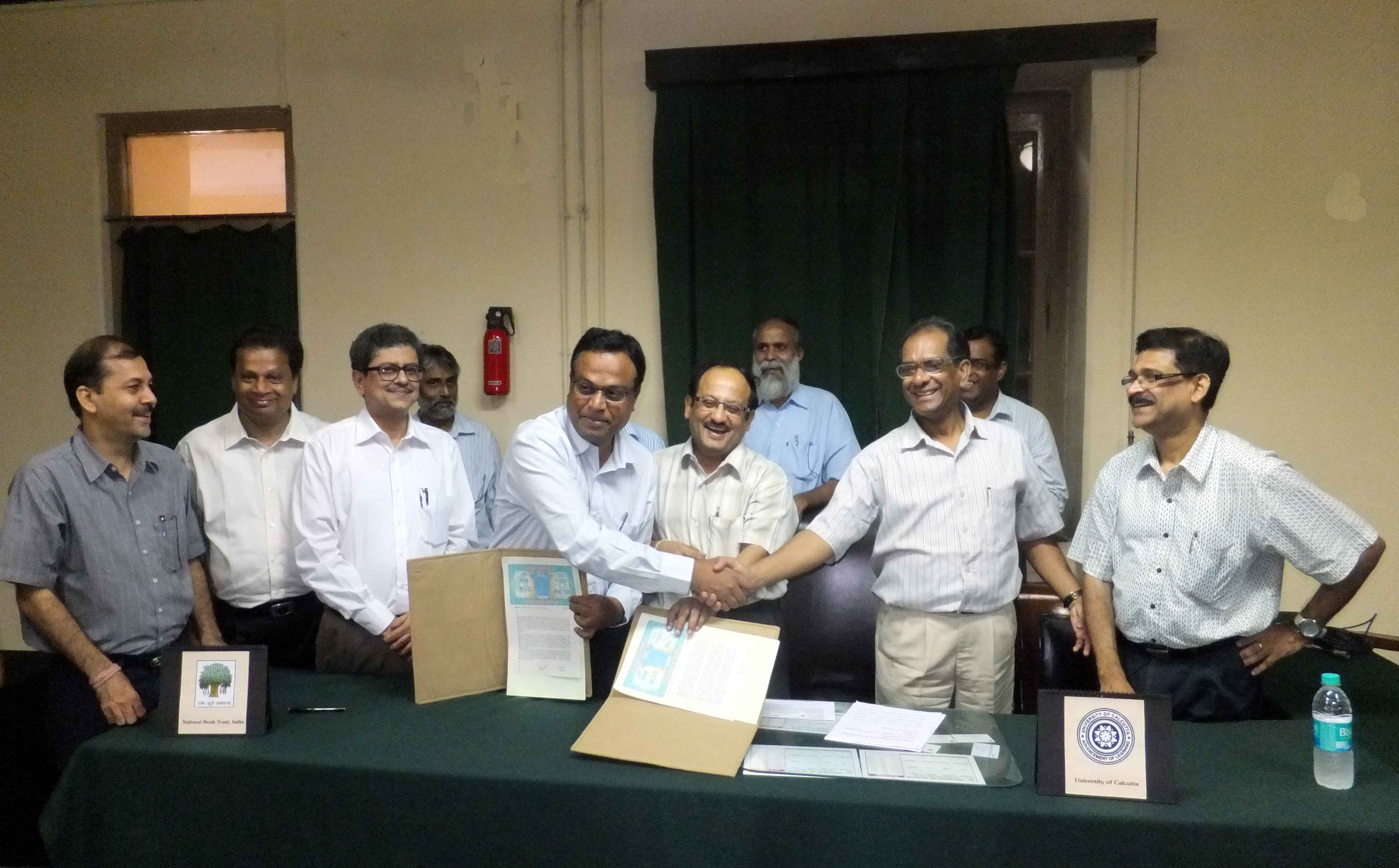 MoU with the University of Calcutta