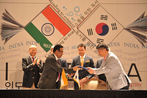 National Book Trust - Korean Publishers' Association Sign MoU